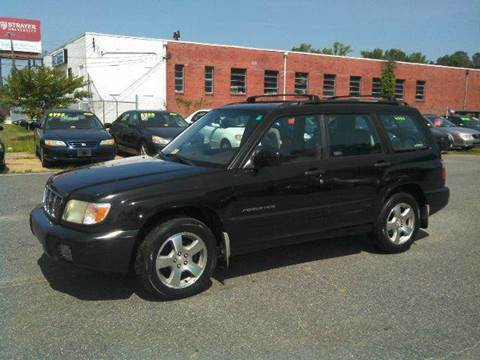 2002 Subaru Forester for sale at Liberty Motors in Chesapeake VA