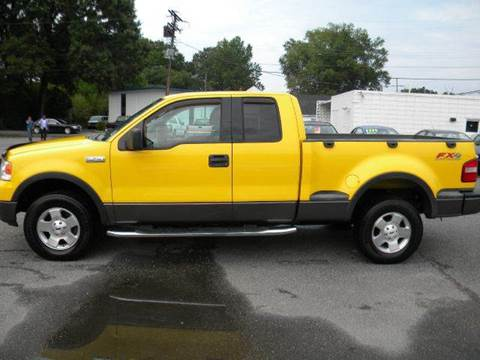 2004 Ford F-150 for sale at Liberty Motors in Chesapeake VA