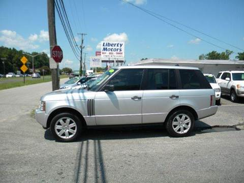 2006 Land Rover Range Rover for sale at Liberty Motors in Chesapeake VA