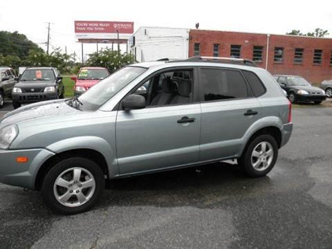 2007 Hyundai Tucson for sale at Liberty Motors in Chesapeake VA