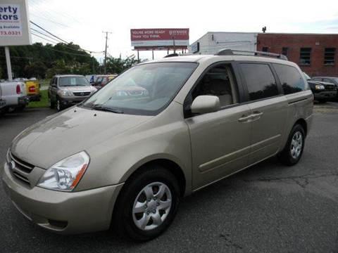 2006 Kia Sedona for sale at Liberty Motors in Chesapeake VA