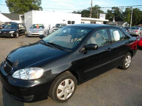 2008 Toyota Corolla for sale at Liberty Motors in Chesapeake VA