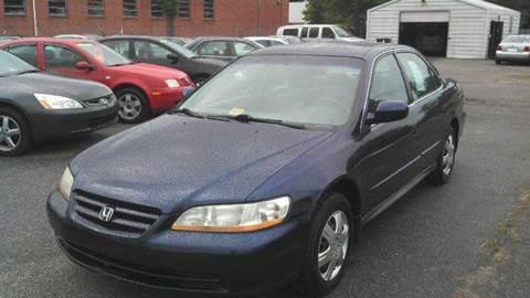 2002 Honda Accord for sale at Liberty Motors in Chesapeake VA