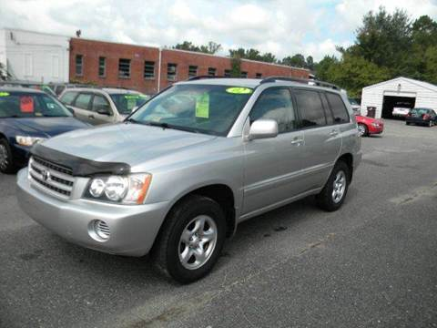 2002 Toyota Highlander for sale at Liberty Motors in Chesapeake VA