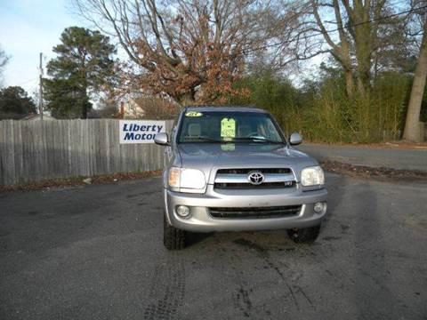 2005 Toyota Sequoia for sale at Liberty Motors in Chesapeake VA