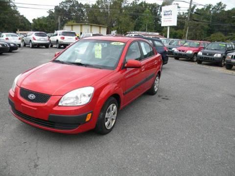 2006 Kia Rio for sale at Liberty Motors in Chesapeake VA