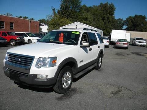 2006 Ford Explorer for sale at Liberty Motors in Chesapeake VA