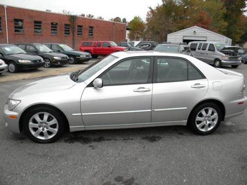 2002 Lexus IS 300 for sale at Liberty Motors in Chesapeake VA