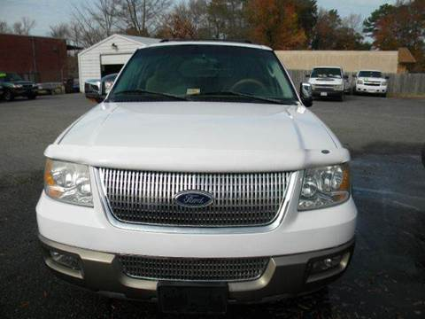 2003 Ford Expedition for sale at Liberty Motors in Chesapeake VA