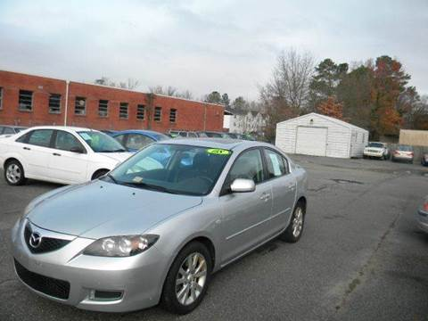 2008 Mazda MAZDA3 for sale at Liberty Motors in Chesapeake VA