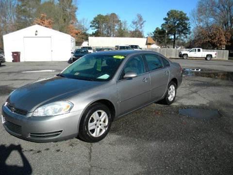 2007 Chevrolet Impala for sale at Liberty Motors in Chesapeake VA