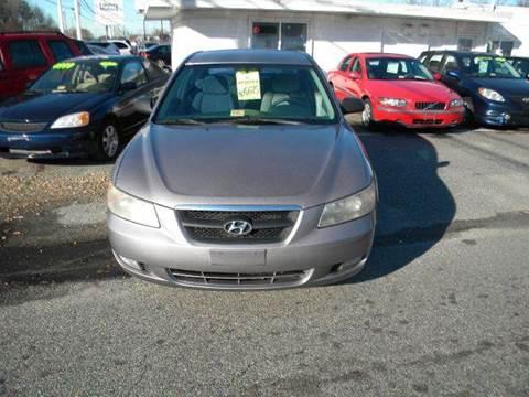 2006 Hyundai Sonata for sale at Liberty Motors in Chesapeake VA