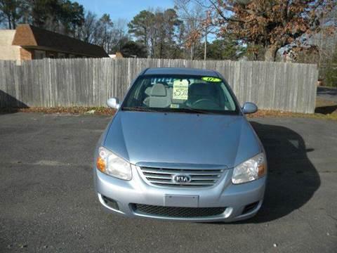 2007 Kia Spectra for sale at Liberty Motors in Chesapeake VA