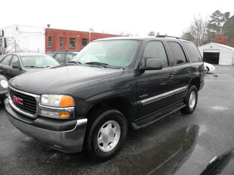 2004 GMC Yukon for sale at Liberty Motors in Chesapeake VA