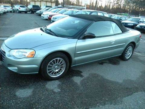2004 Chrysler Sebring for sale at Liberty Motors in Chesapeake VA