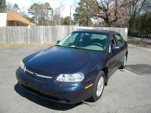 2001 Chevrolet Malibu for sale at Liberty Motors in Chesapeake VA