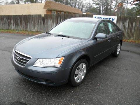 2010 Hyundai Sonata for sale at Liberty Motors in Chesapeake VA