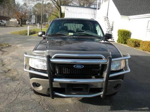 2003 Ford Explorer Sport for sale at Liberty Motors in Chesapeake VA