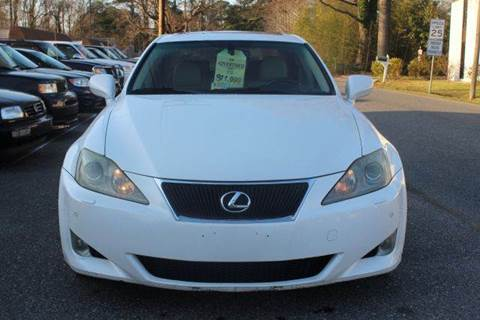 2006 Lexus IS 250 for sale at Liberty Motors in Chesapeake VA