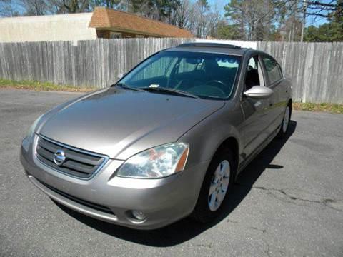 2003 Nissan Altima for sale at Liberty Motors in Chesapeake VA