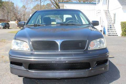 2003 Mitsubishi Lancer for sale at Liberty Motors in Chesapeake VA