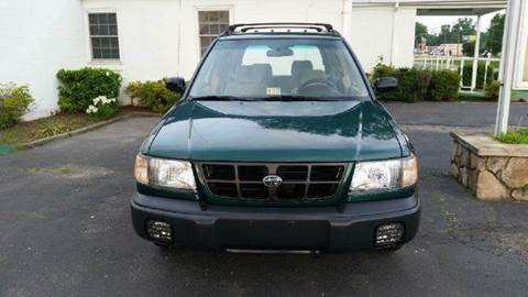 1999 Subaru Forester for sale at Liberty Motors in Chesapeake VA