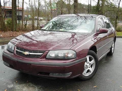 2003 Chevrolet Impala for sale at Liberty Motors in Chesapeake VA