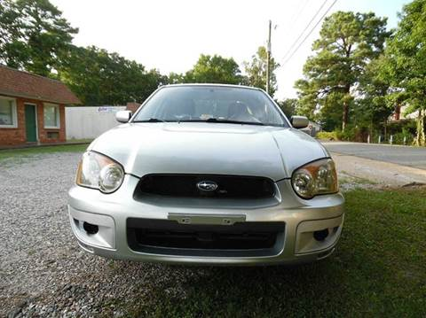 2004 Subaru Impreza for sale at Liberty Motors in Chesapeake VA