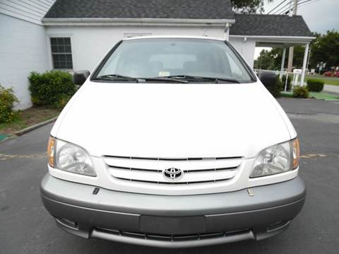 2001 Toyota Sienna for sale at Liberty Motors in Chesapeake VA