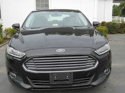 2013 Ford Fusion for sale at Liberty Motors in Chesapeake VA