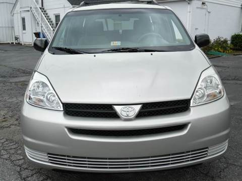 2004 Toyota Sienna for sale at Liberty Motors in Chesapeake VA