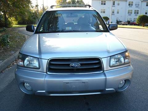 2003 Subaru Forester for sale at Liberty Motors in Chesapeake VA