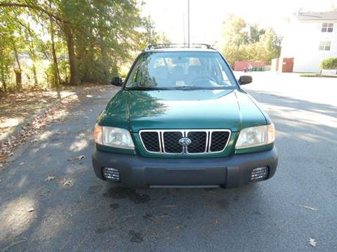 2001 Subaru Forester for sale at Liberty Motors in Chesapeake VA