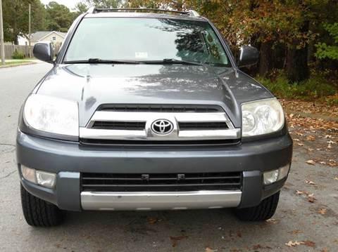 2004 Toyota 4Runner for sale at Liberty Motors in Chesapeake VA