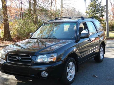 2004 Subaru Forester for sale at Liberty Motors in Chesapeake VA