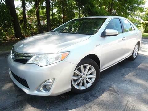 2013 Toyota Camry Hybrid for sale at Liberty Motors in Chesapeake VA