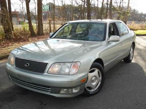 1999 Lexus LS 400 for sale at Liberty Motors in Chesapeake VA