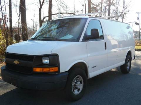2005 Chevrolet Express Cargo for sale at Liberty Motors in Chesapeake VA