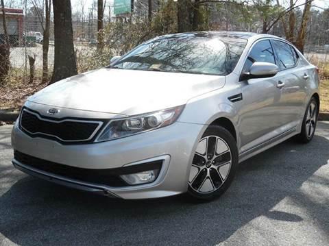 2011 Kia Optima Hybrid for sale at Liberty Motors in Chesapeake VA