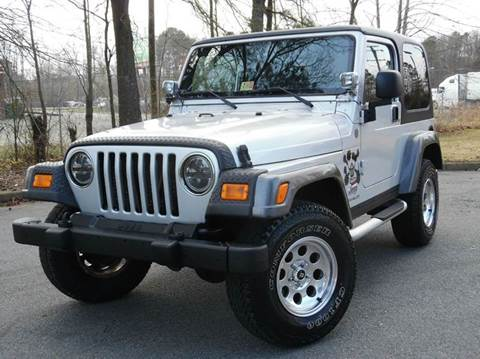 2004 Jeep Wrangler for sale at Liberty Motors in Chesapeake VA