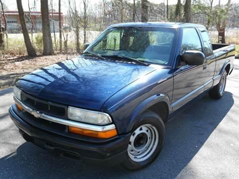 2003 Chevrolet S-10 for sale at Liberty Motors in Chesapeake VA