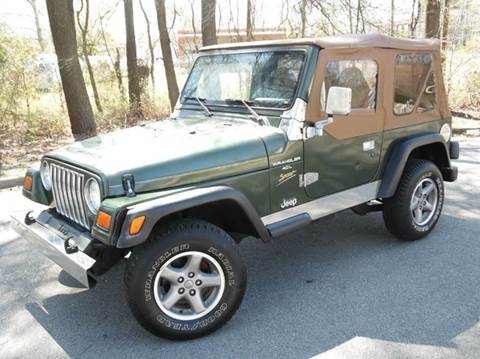 1997 Jeep Wrangler for sale at Liberty Motors in Chesapeake VA