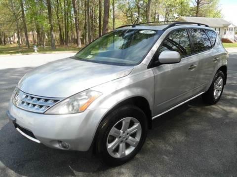 2007 Nissan Murano for sale at Liberty Motors in Chesapeake VA