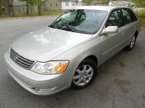 2003 Toyota Avalon for sale at Liberty Motors in Chesapeake VA