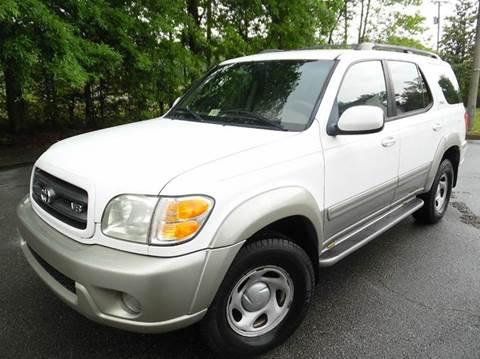 2004 Toyota Sequoia for sale at Liberty Motors in Chesapeake VA