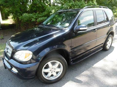 2004 Mercedes-Benz M-Class for sale at Liberty Motors in Chesapeake VA
