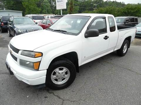 2007 Chevrolet Colorado for sale at Liberty Motors in Chesapeake VA