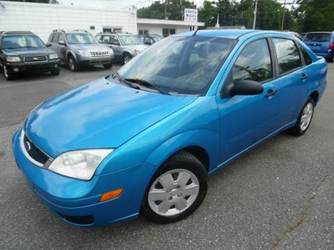 2007 Ford Focus for sale at Liberty Motors in Chesapeake VA