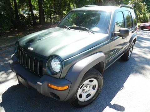 2003 Jeep Liberty for sale at Liberty Motors in Chesapeake VA