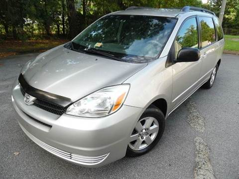 2005 Toyota Sienna for sale at Liberty Motors in Chesapeake VA